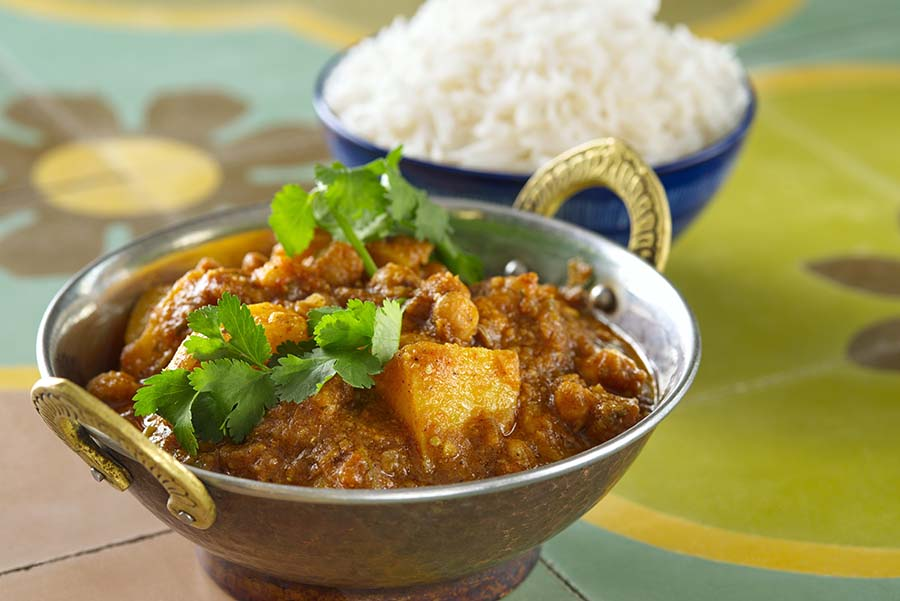 CHANA ALOO VINDALOO